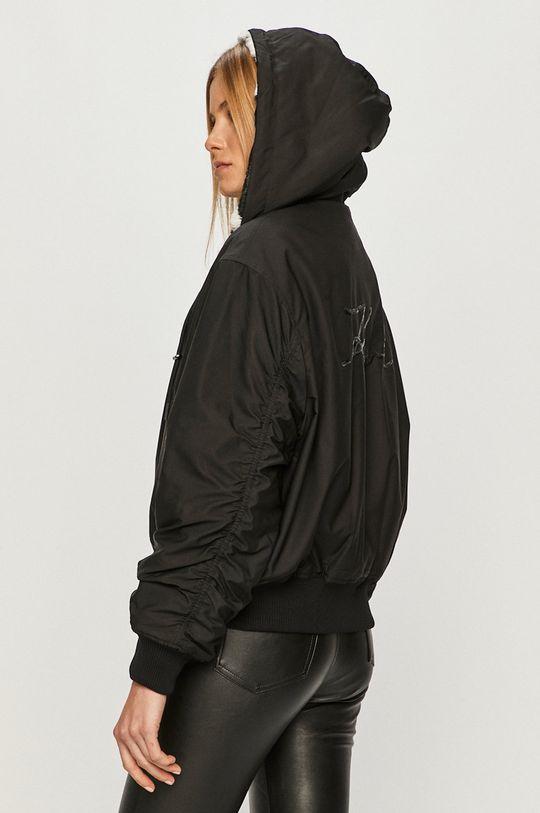 černá Karl Lagerfeld - Oboustranná bomber bunda