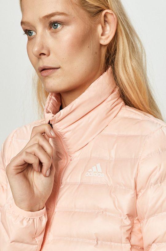 adidas Performance - Péřová bunda růžová