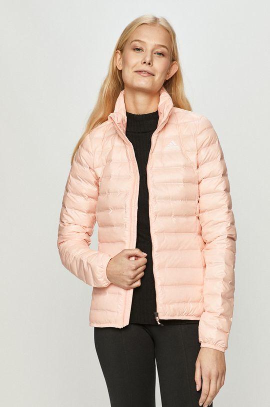 růžová adidas Performance - Péřová bunda