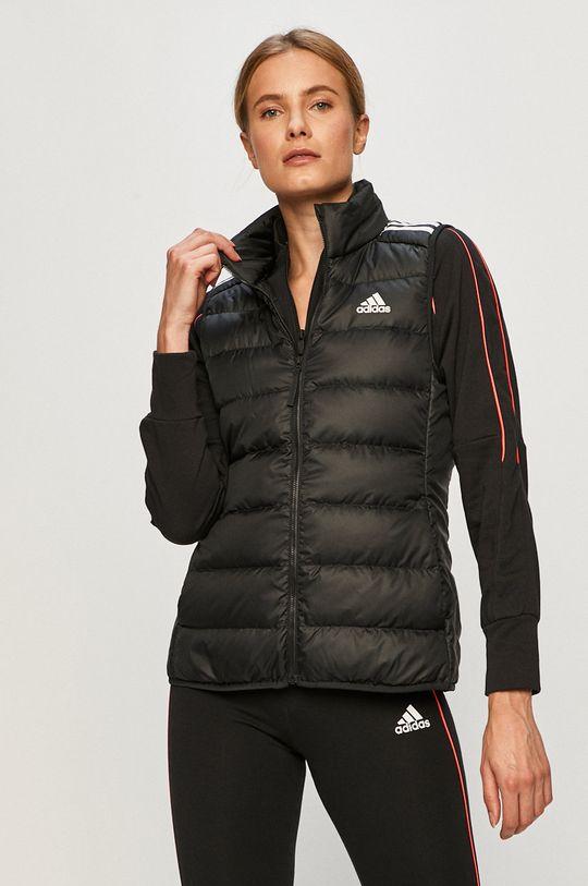 černá adidas Performance - Péřová vesta Dámský