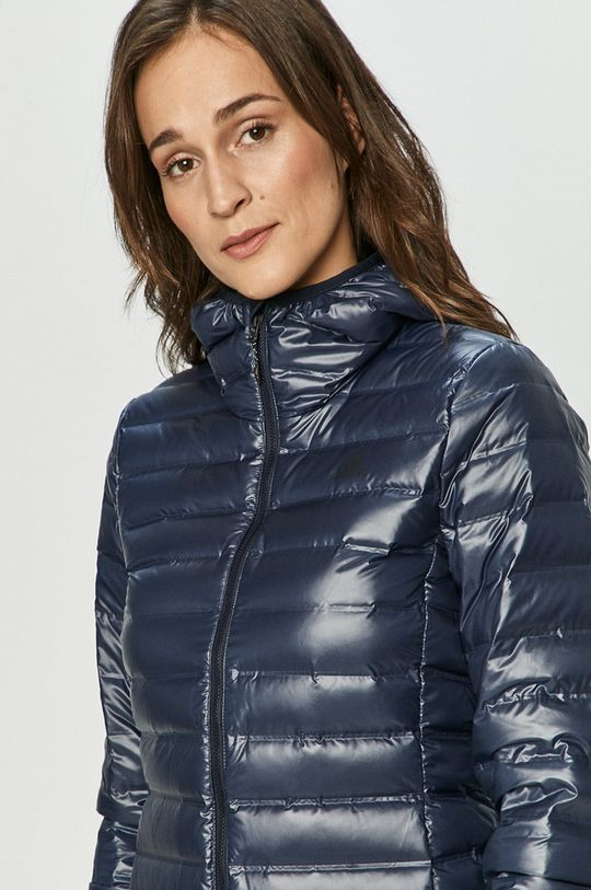 námořnická modř adidas Performance - Péřová bunda