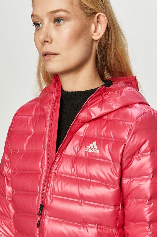 adidas Performance - Geaca de puf roz ascutit