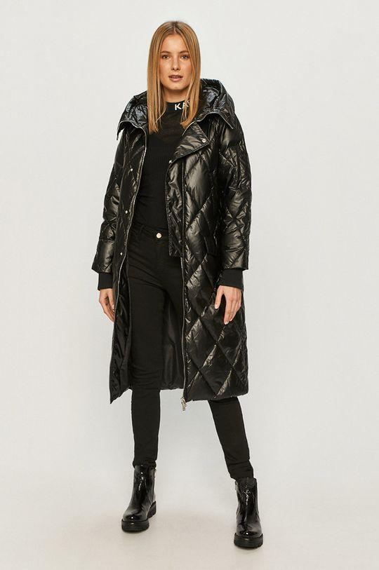 Silvian Heach - Péřová bunda černá
