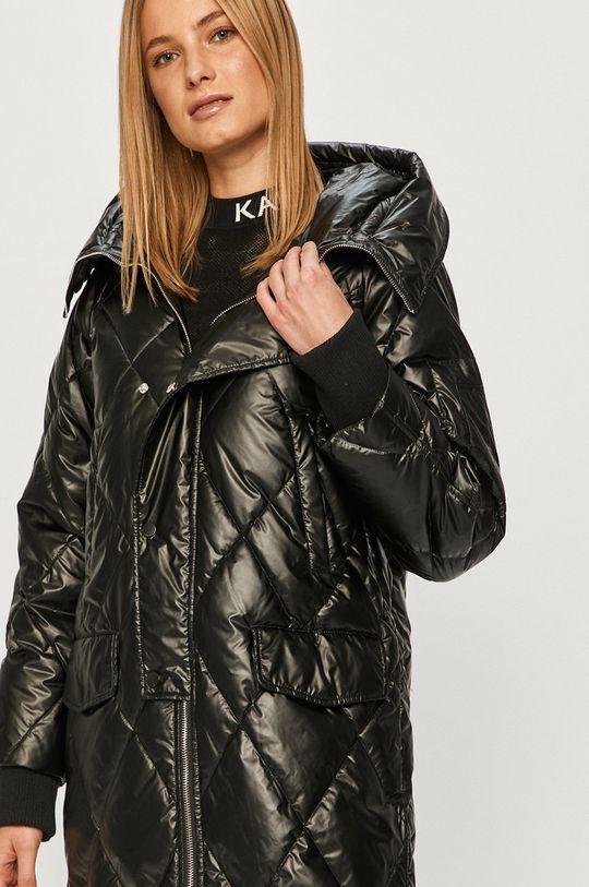 černá Silvian Heach - Péřová bunda