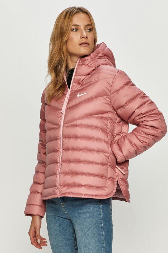 staroružová Nike Sportswear - Páperová bunda Dámsky