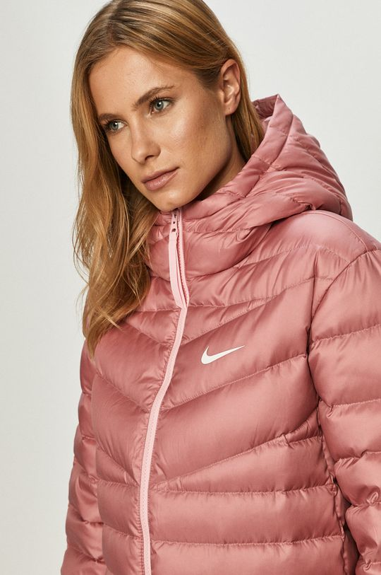 staroružová Nike Sportswear - Páperová bunda