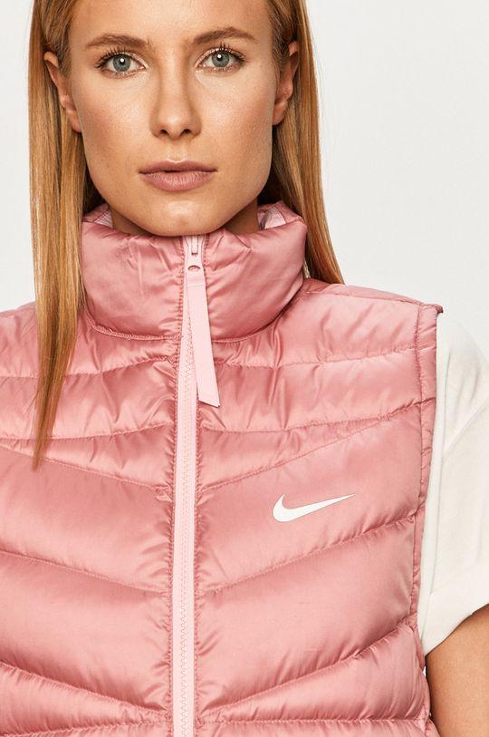 ružovo-červená Nike Sportswear - Páperová vesta