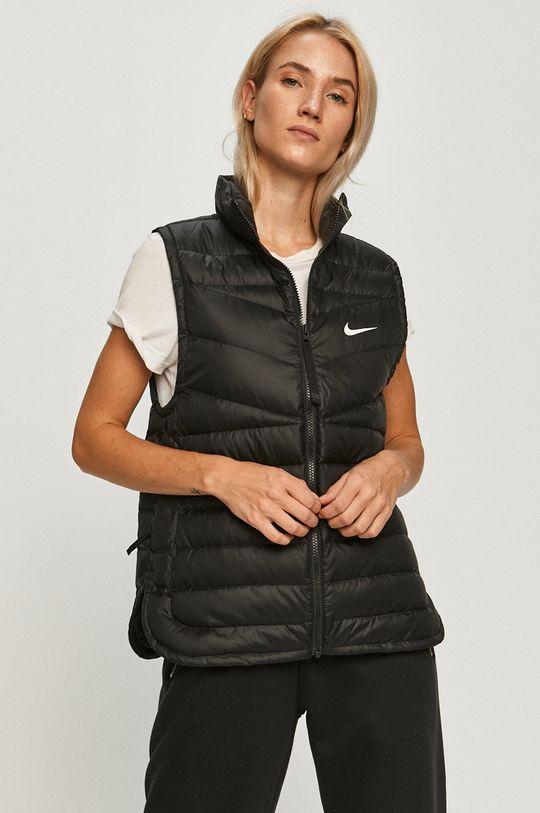 čierna Nike Sportswear - Páperová vesta Dámsky