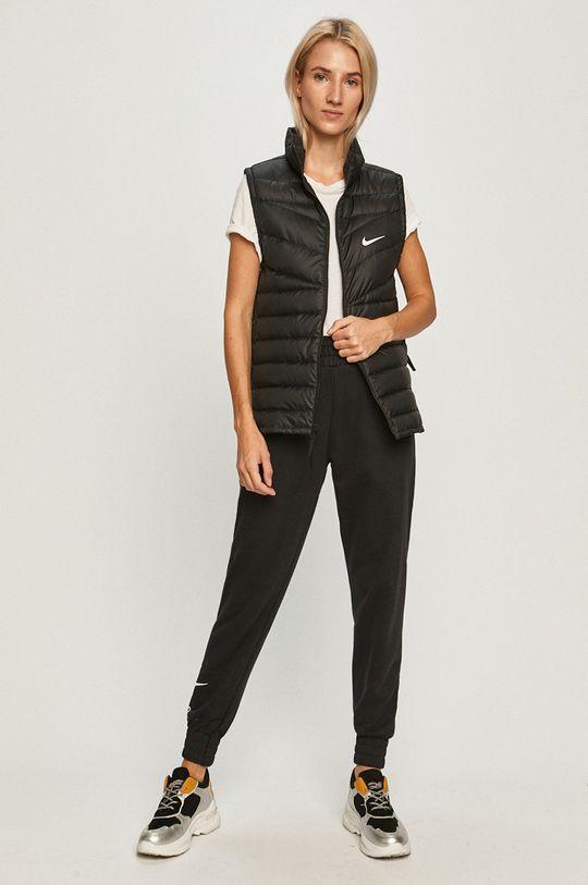 Nike Sportswear - Páperová vesta čierna