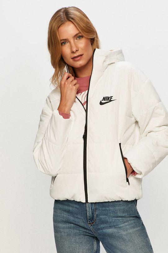 biela Nike Sportswear - Bunda Dámsky