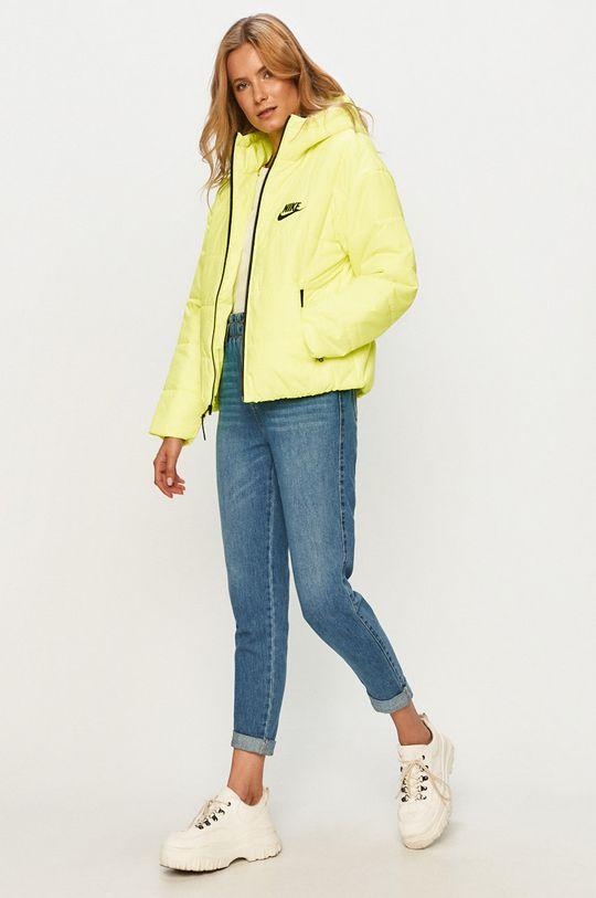 Nike Sportswear - Geaca galben – verde