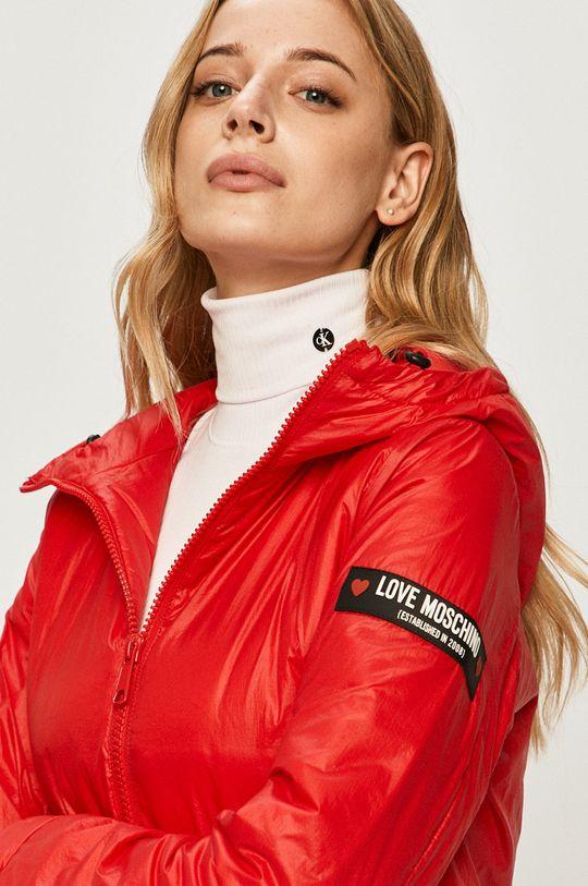 červená Love Moschino - Bunda
