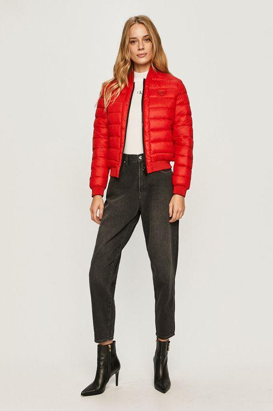 Love Moschino - Obojstranná bunda bomber  Výplň: 100% Polyester Základná látka: 100% Polyamid 1. látka: 100% Polyester Elastická manžeta: 3% Elastan, 97% Polyester