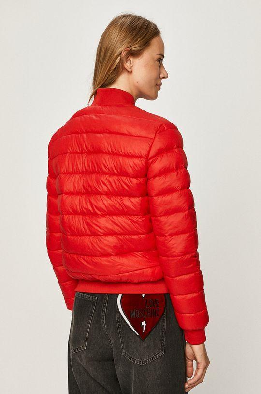 červená Love Moschino - Obojstranná bunda bomber