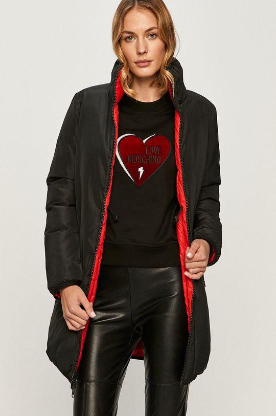 červená Love Moschino - Obojstranná bunda Dámsky