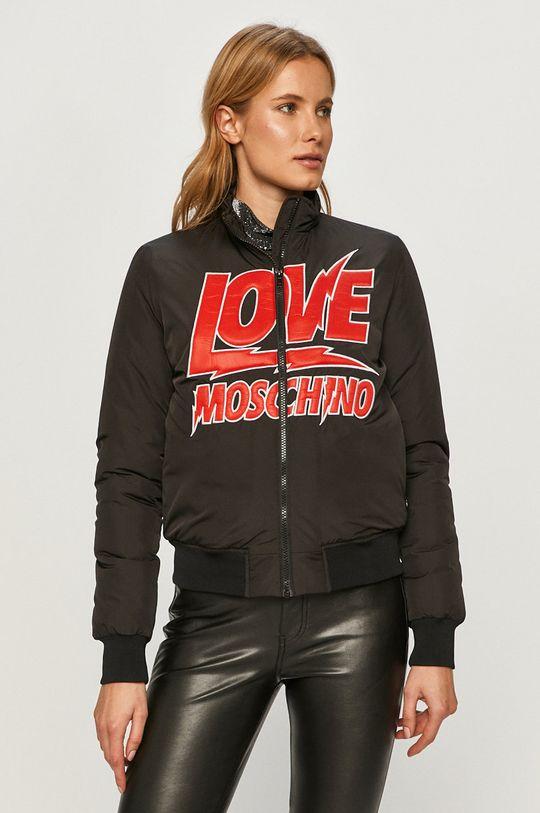 černá Love Moschino - Bomber bunda Dámský