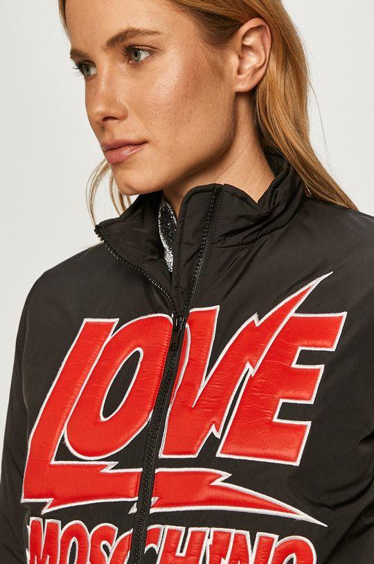 černá Love Moschino - Bomber bunda