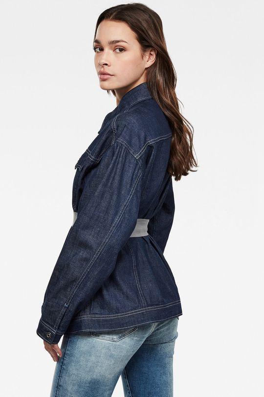 G-Star Raw - Džínová bunda námořnická modř