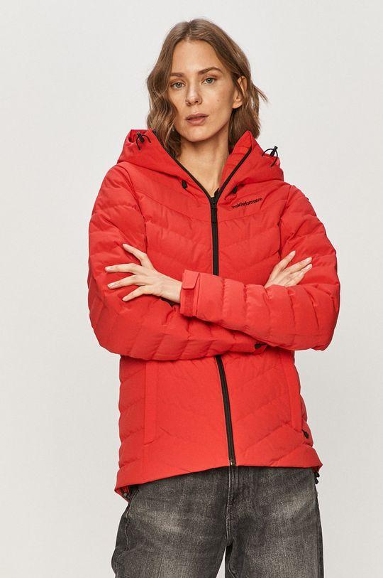 červená Peak Performance - Péřová bunda Dámský