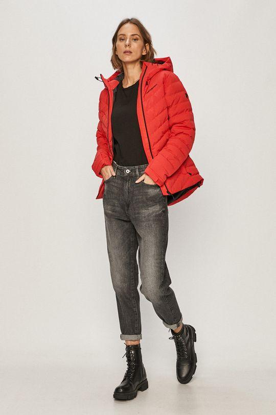 Peak Performance - Péřová bunda červená