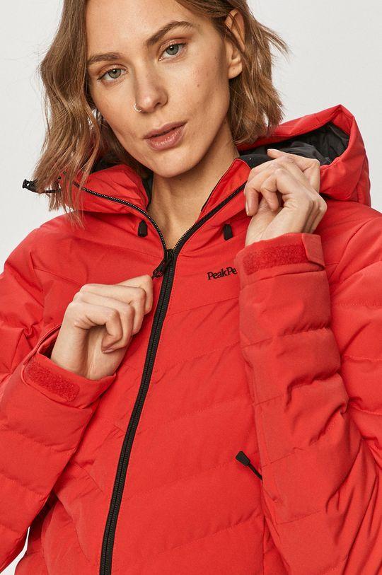červená Peak Performance - Péřová bunda