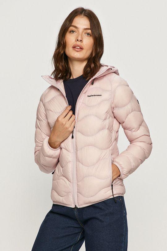 pastelově růžová Peak Performance - Péřová bunda Dámský