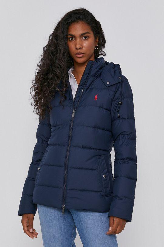 námořnická modř Polo Ralph Lauren - Péřová bunda Dámský
