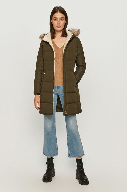 Lauren Ralph Lauren - Péřová bunda olivová