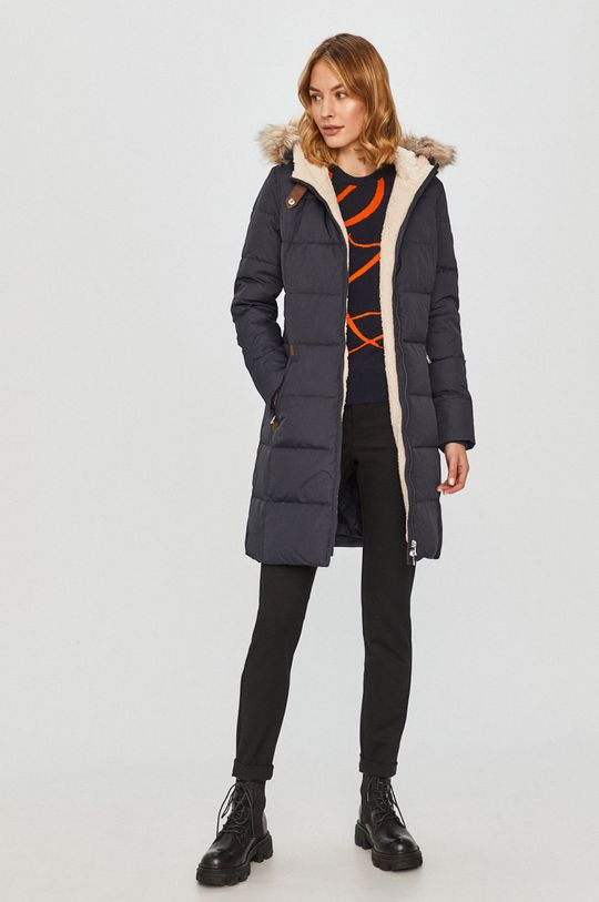Lauren Ralph Lauren - Péřová bunda námořnická modř
