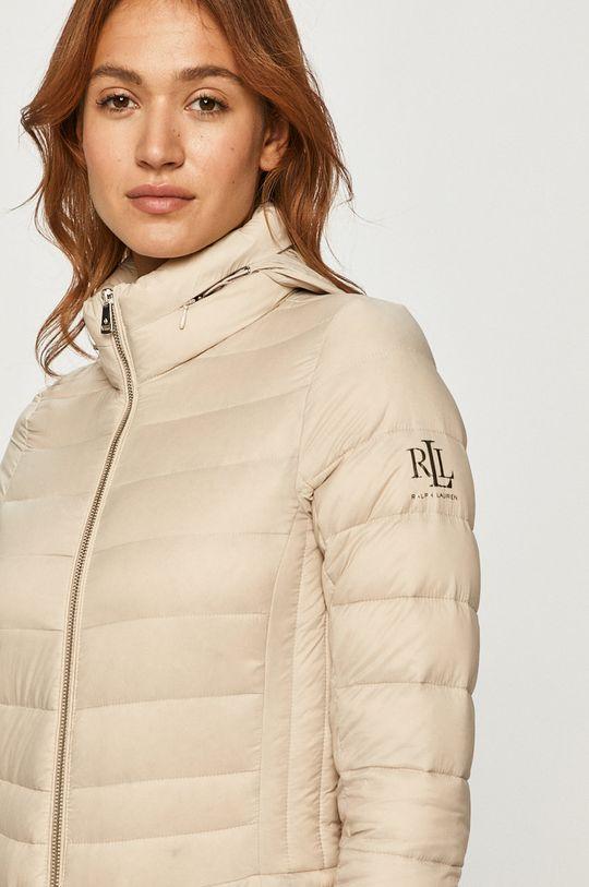 béžová Lauren Ralph Lauren - Péřová bunda