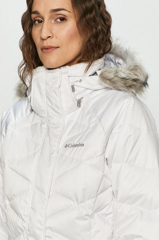 bílá Columbia - Péřová bunda