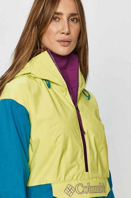 żółto - zielony Columbia - Kurtka