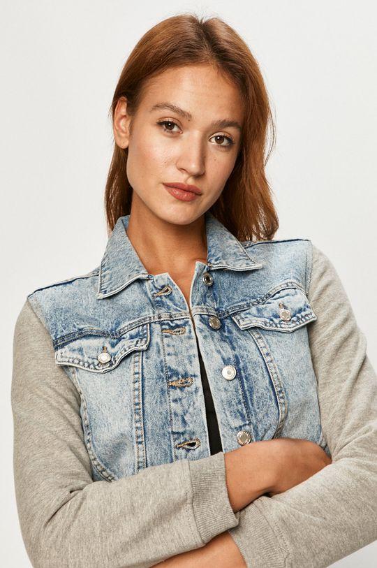 niebieski Tally Weijl - Kurtka jeansowa