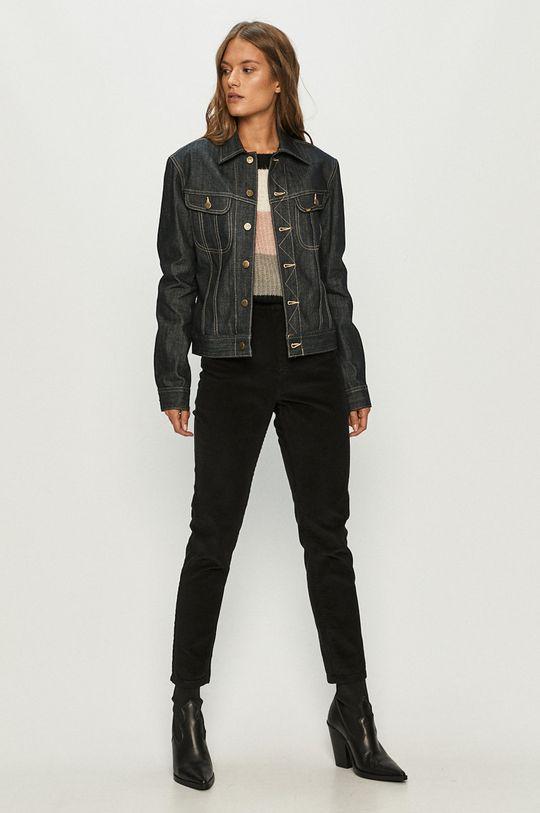 Lee - Rifľová bunda tmavomodrá