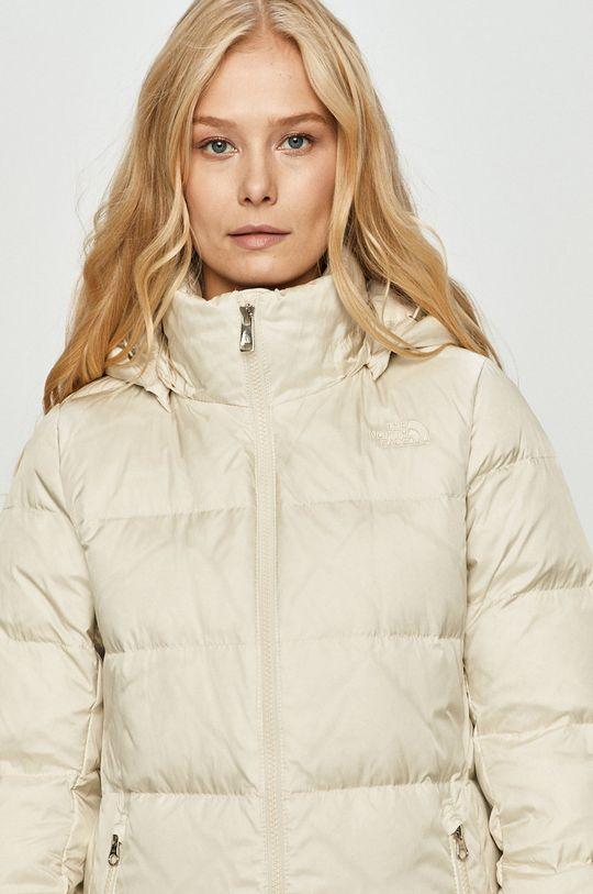 světle šedá The North Face - Péřová bunda