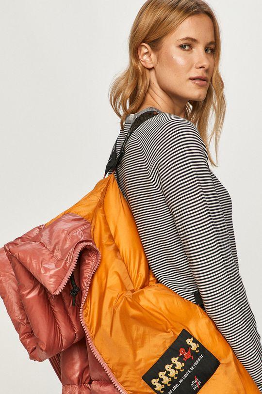 růžová After Label - Péřová bunda