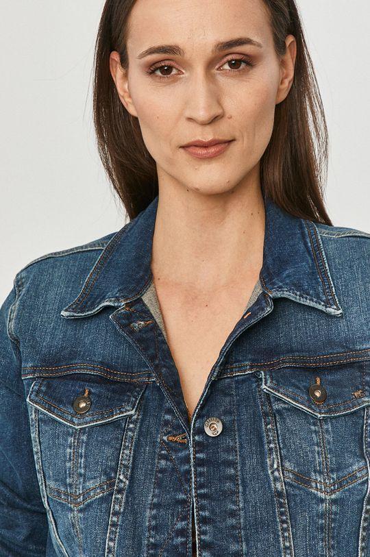 niebieski Mustang - Kurtka jeansowa