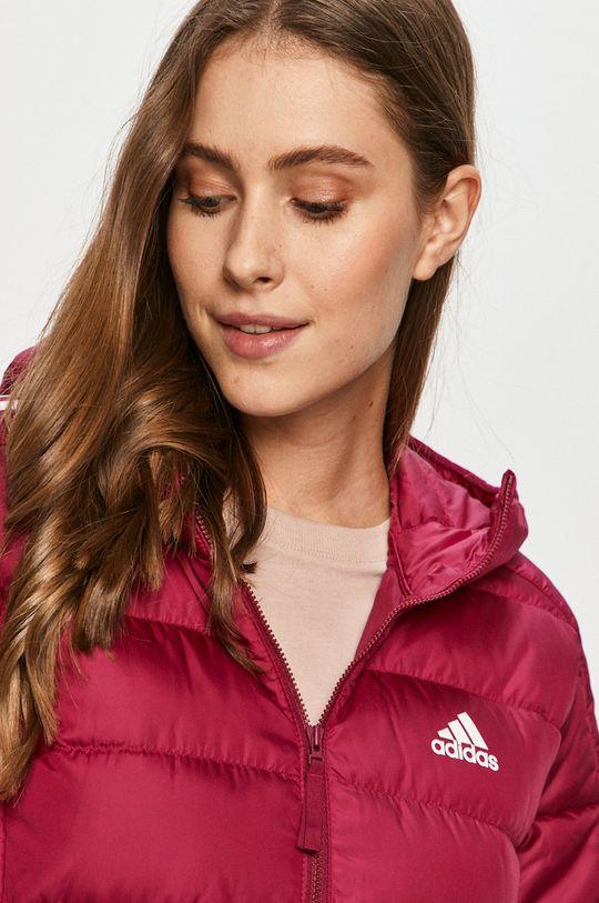 purpurová adidas Performance - Péřová bunda