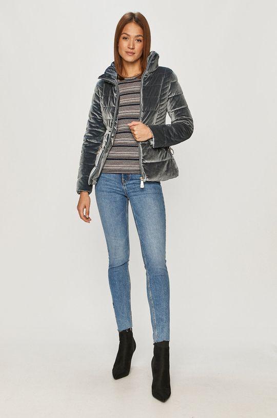 Guess Jeans - Kurtka stalowy niebieski