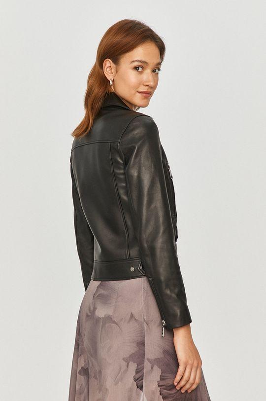 Karl Lagerfeld - Kožená bunda  Podšívka: 51% Acetát, 49% Viskóza Základná látka: 100% Prírodná koža