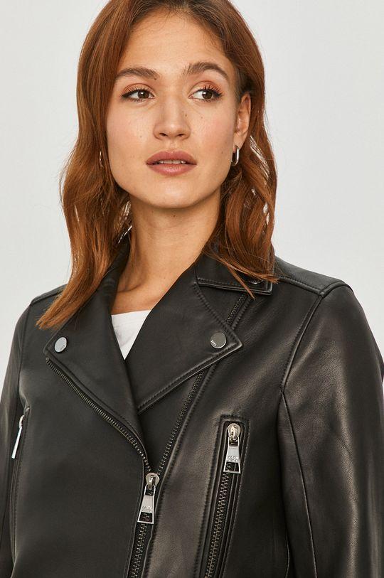 čierna Karl Lagerfeld - Kožená bunda