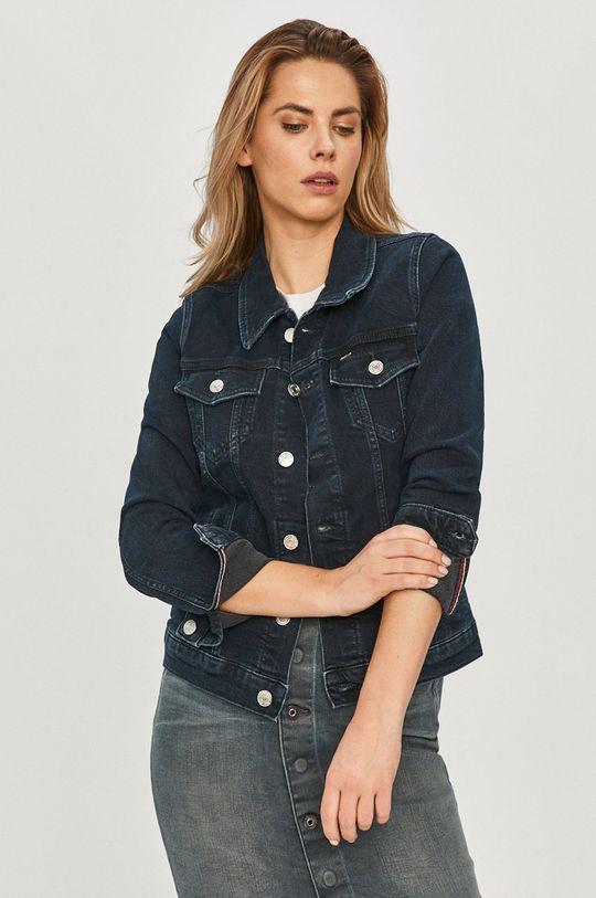 granatowy Tommy Jeans - Kurtka jeansowa Damski