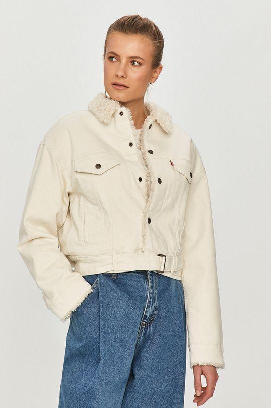 biały Levi's - Kurtka jeansowa Damski