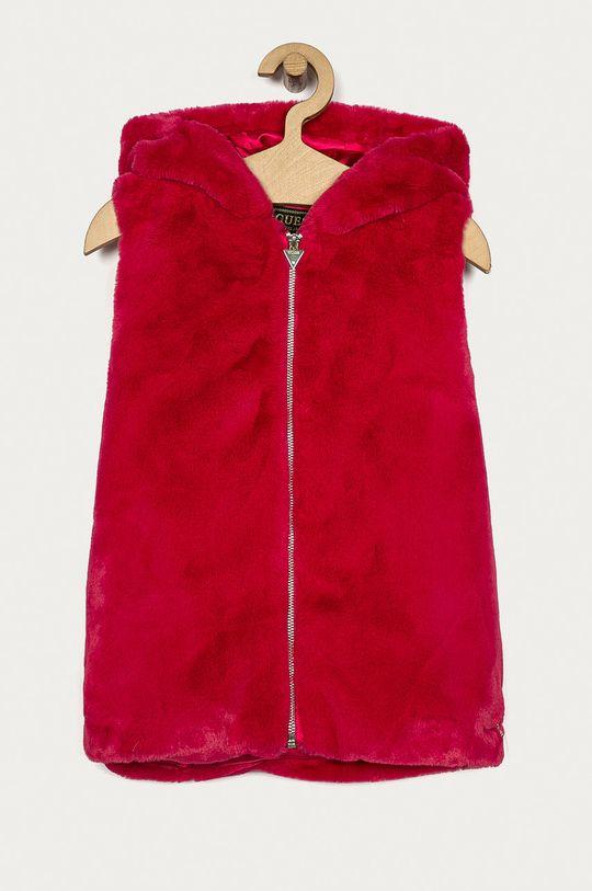 ostrá růžová Guess Jeans - Dětská vesta 86-175 cm Dívčí