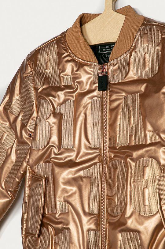 Guess Jeans - Dětská bomber bunda 116-175 cm  Podšívka: 100% Polyester Výplň: 100% Polyester Hlavní materiál: 100% Polyester Provedení: 100% Polyuretan