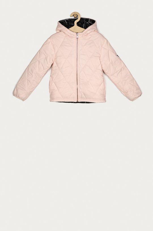 ružová Guess Jeans - Detská obojstranná bunda 116-175 cm Dievčenský
