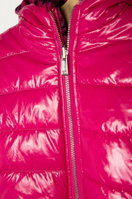 Guess Jeans - Dětská oboustranná bunda 116-175 cm ostrá růžová