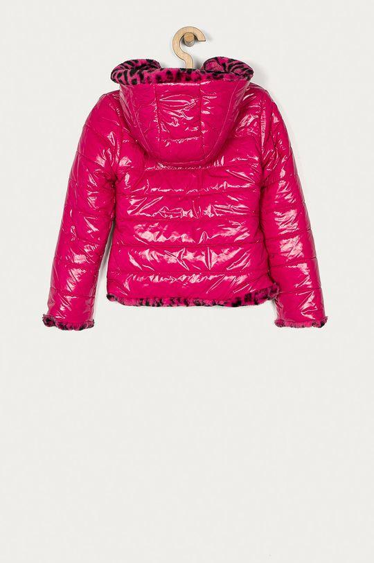Guess Jeans - Dětská oboustranná bunda 116-175 cm  Materiál č. 1: 100% Polyuretan Materiál č. 2: 100% Polyamid Materiál č. 3: 100% Polyester