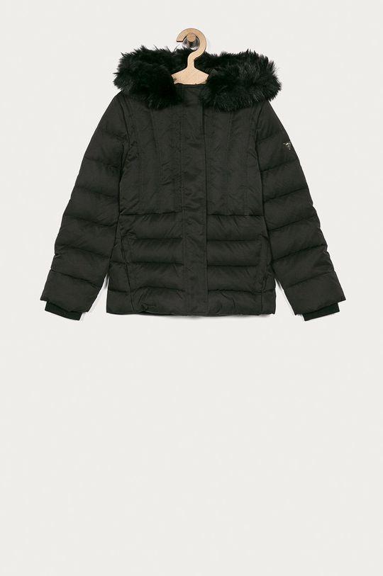 černá Guess Jeans - Dětská péřová bunda 116-175 cm Dívčí