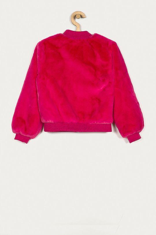Guess Jeans - Kurtka bomber dziecięca 116-175 cm ostry różowy